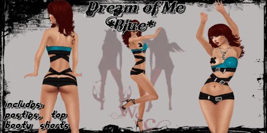 Dream of Me Blue